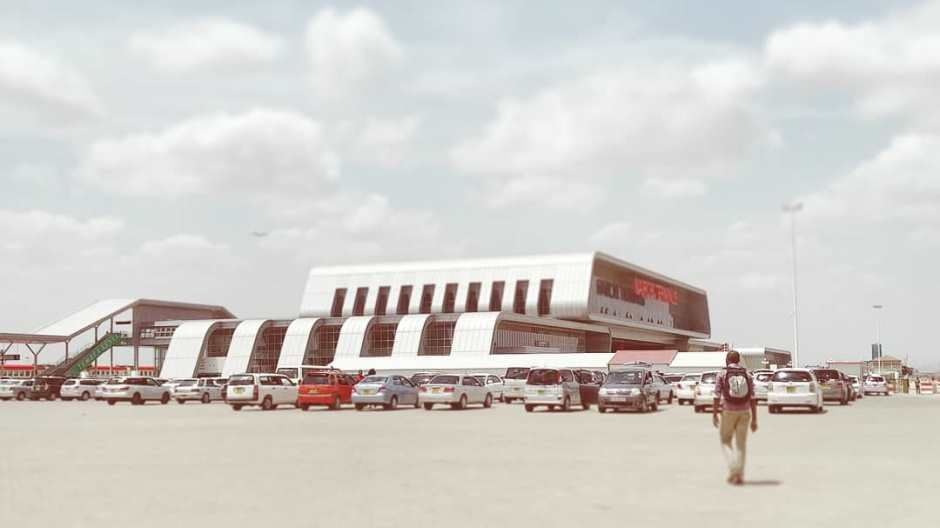 Nairobi SGR Railways Terminus for the new Nairobi - Mombasa Railway  © Owen Wainhouse