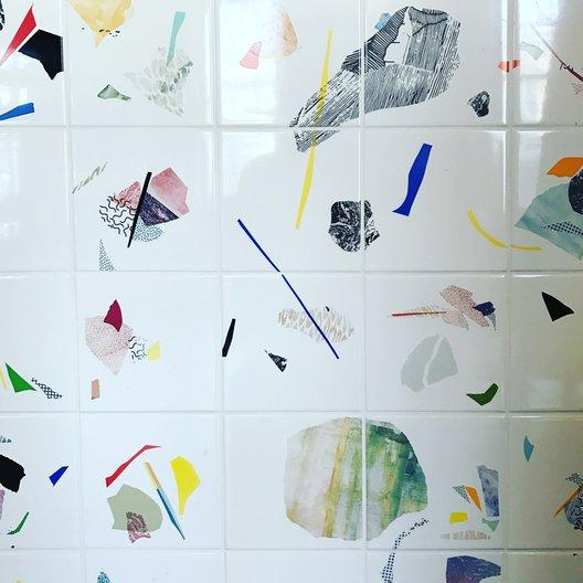 Granby Workshop Tiles at Northern Design Festival © GRACE BREMNER