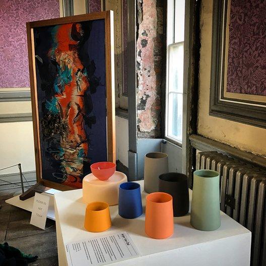Arjan van Dal Ceramics  at Northern Design Festival © GRACE BREMNER