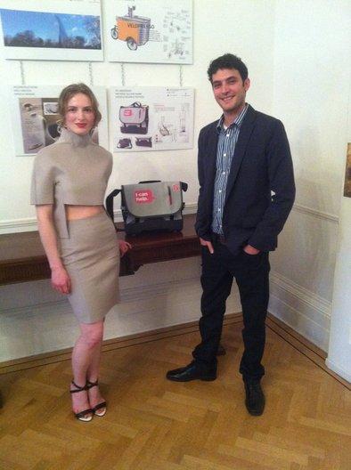 Designers: Elena Blank and Nir Siegel at The Pininfarina London