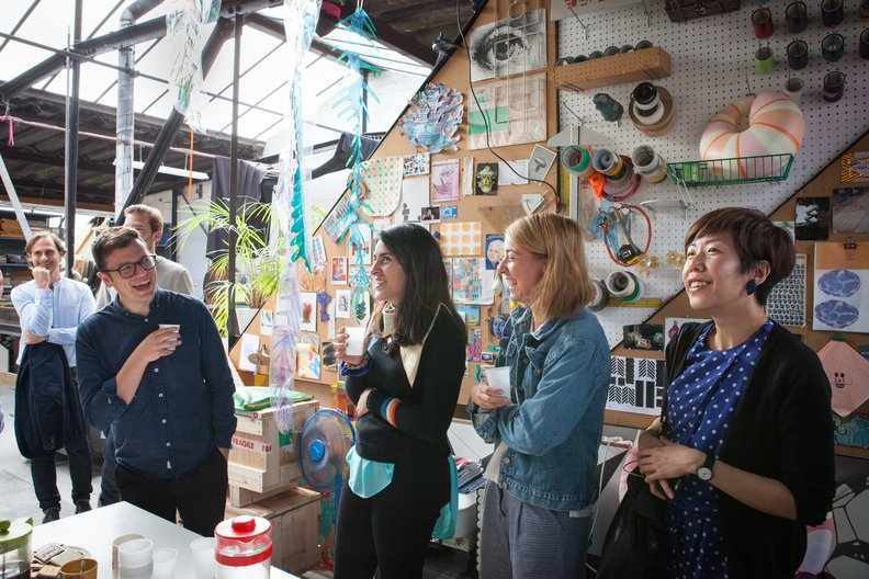Design Connections at Bethan Laura Wood's Studio Lucia Scerankova