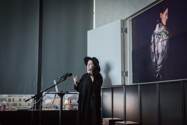 Lauren Bowker from The Unseen at 10x10 Lucia Scernankova