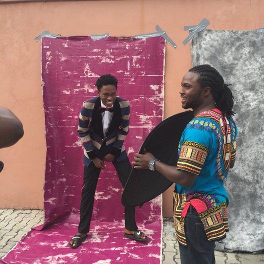 Behind the scenes  © Lagos Fashion Week