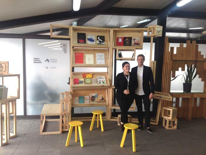 Maker Librarians: Gunnar Groves-Raines & Maria Garcia Holley  Ella Reynolds