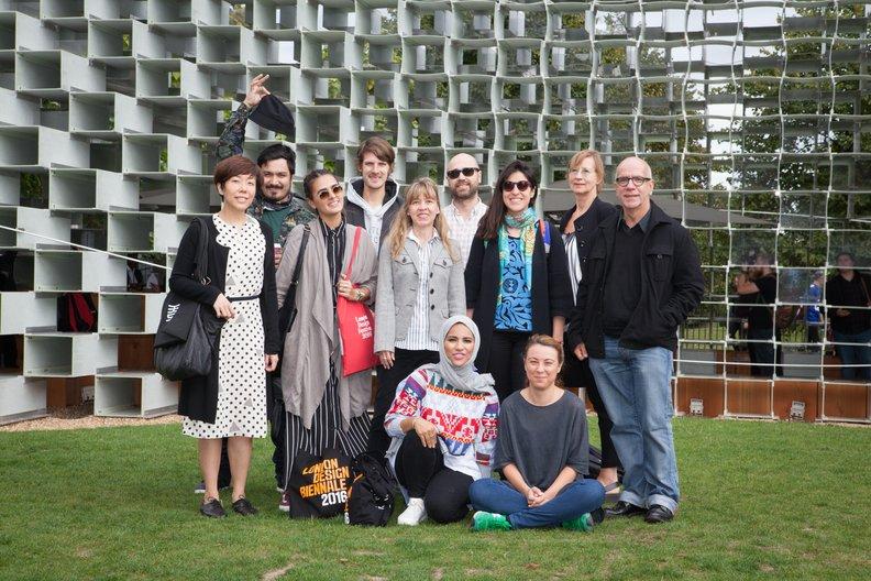 Design Connections at Serpentine Pavillion Lucia Scerankova