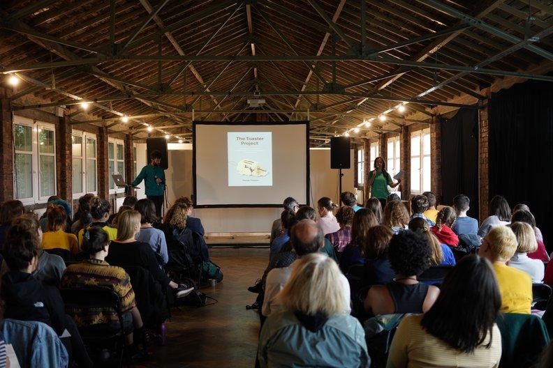 Opening Symposium, Civic House © Elena Tamosiunaite
