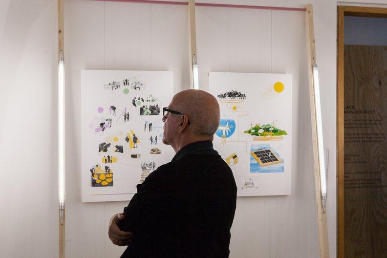 Manuel Blanco at Ecotopia - Brompton Design District Lucia Scerankova