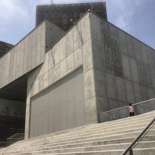 The new extension to Museo de Arte Moderno de Medellin photo by João Guarantani