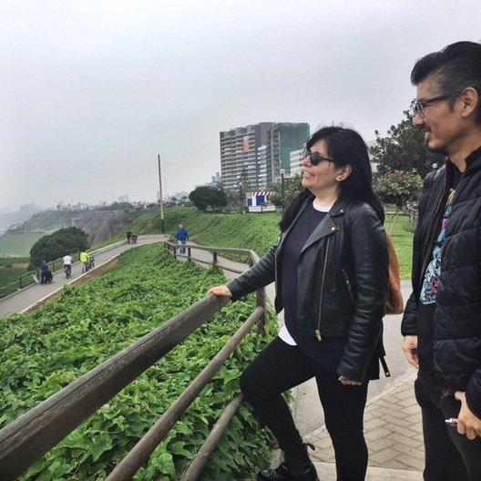 A tour of 'Lima la gris' with Patricia Villanueva and Christina Arakaki photo by João Guarantani