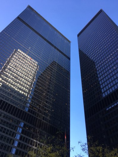 Toronto's Dominion Centre, designed by Mies van der Rohe, and around the corner from Design Exchange João Guarantani
