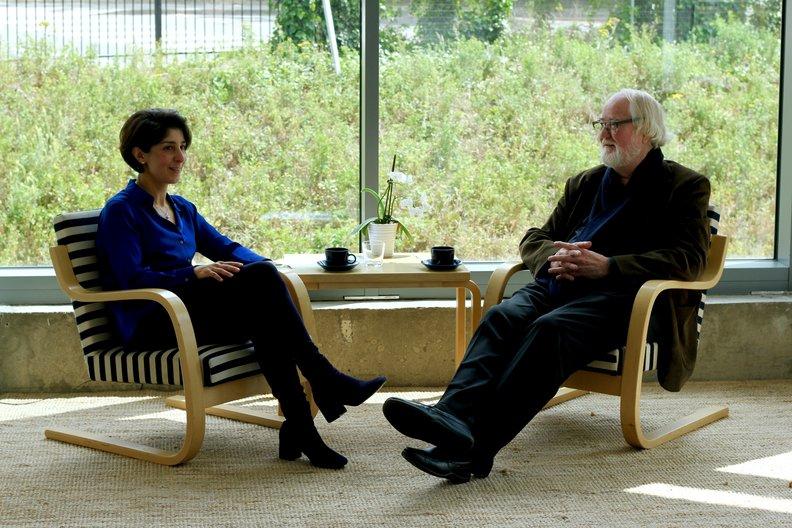 Prof. Juhani Pallasmaa & Maria Gasparian © Sara Forsius