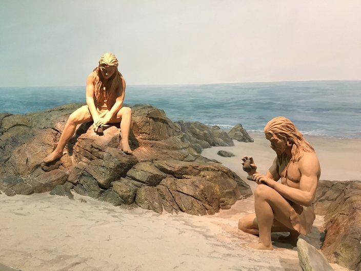 Pre-history re-enacted at Hong Kong Museum of History photo by João Guarantani