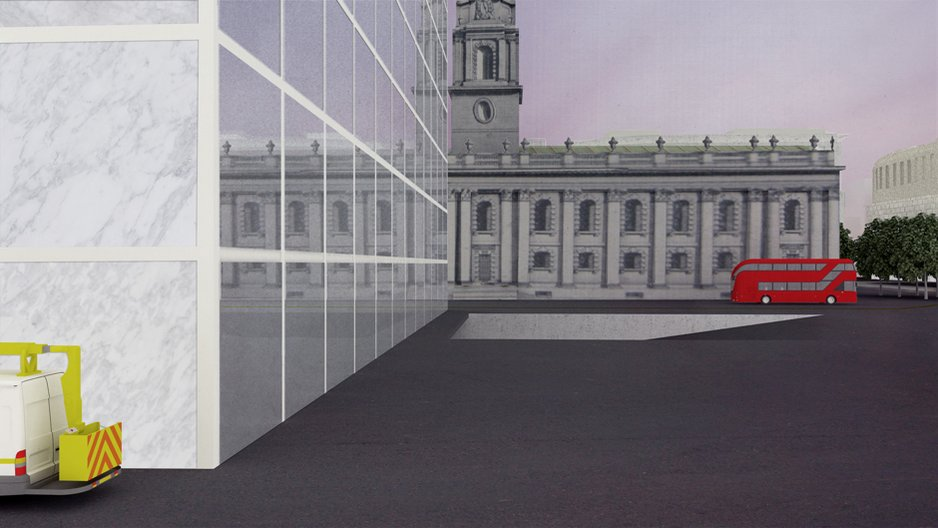 A render of 'Empire Hotel' by Jack Self © JACK SELF