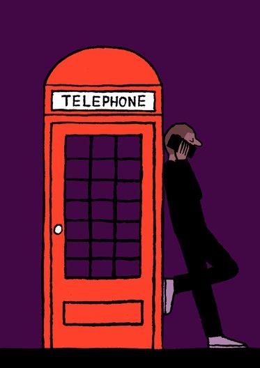 Phone, 2014 Jean Jullien