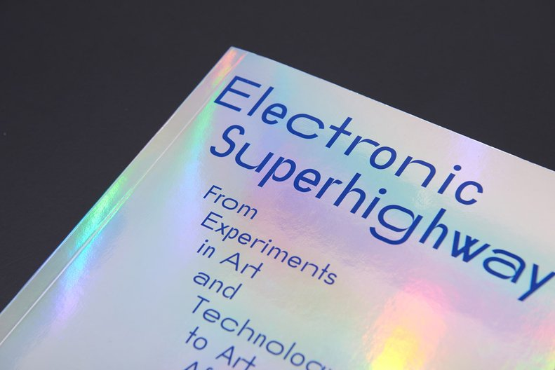 Electronic Superhighway catalogue design, Whitechapel Gallery © Julia