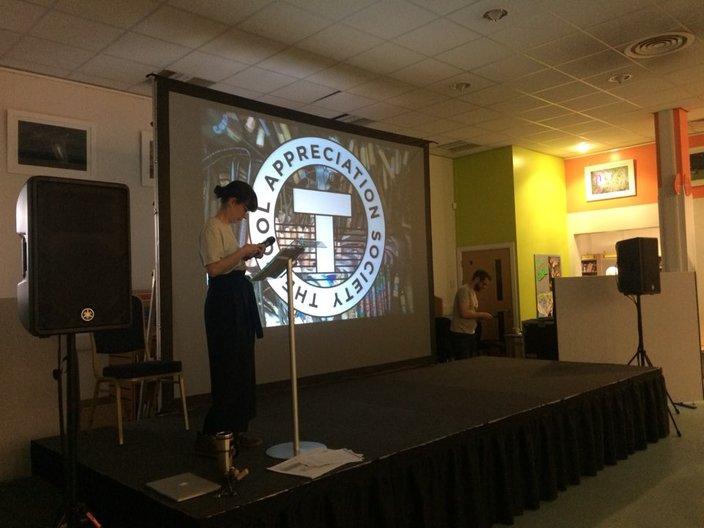 Presentation by Linda Brothwell Photograph courtesy Sujan Park