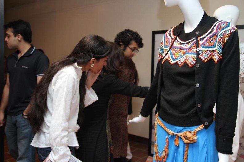 Peter Jensen display in Karachi