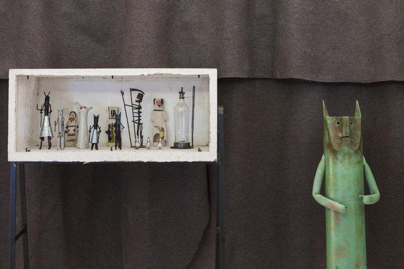 Lina Bo Bardi: Together; installation view, ArkDes, Stockholm ArkDes