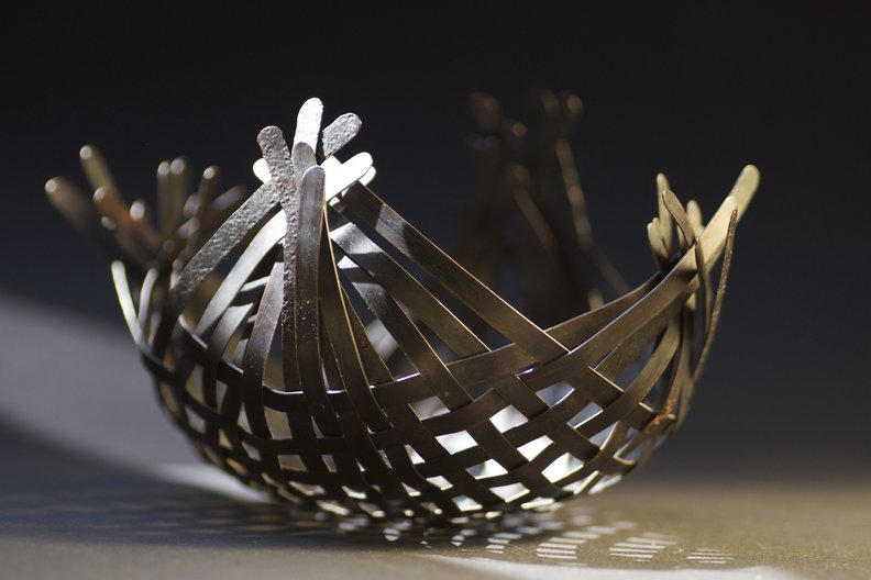 Basket by Linda Brothwell  Photo: Mark Campbell