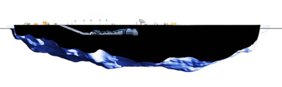 Entire Section, Iceberg Living Station, MAP Architects