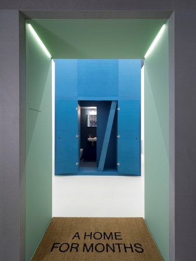 The third room, Months by Dogma and Black Square © Cristiano Corte
