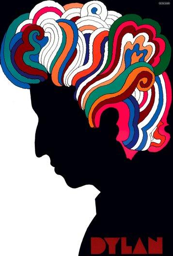 Dylan, 1966 Milton Glaser