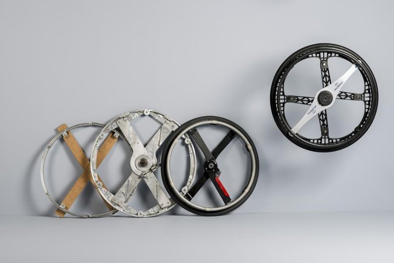 Morph Folding Wheel, Duncan Fitzsimons © COLIN ROSS