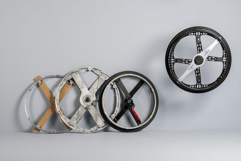 Morph Folding Wheel, Duncan Fitzsimons © COLIN ROSS