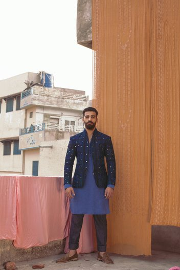 Fashion DNA: Pakistan designer Munib Nawaz Photograph by Ayaz Anis