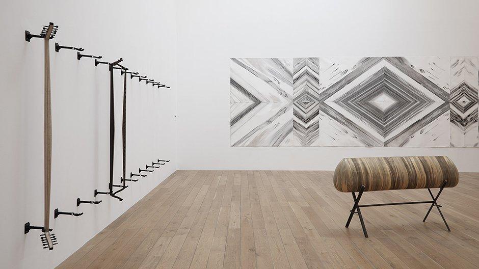 From Ear to Ear to Eye, installation shot, Haig Aivazian, Hastayim Yasiyorum 'I Am Sick But I Am Alive' (2016), Nottingham Contemporary © Stuart Whipps