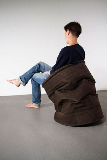 Barrell seat by Harry Thaler