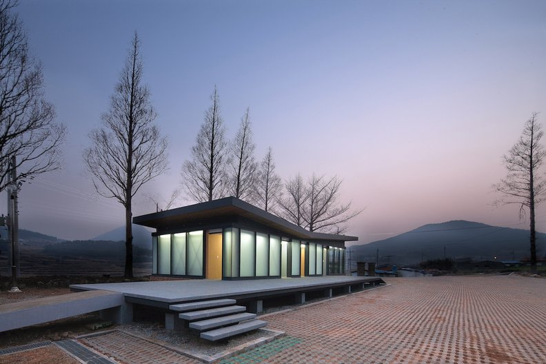OUJAE Architects: Management Office Annex (c)Jaeyun Jaeyun Kim