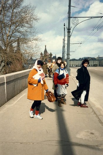On the streets of Moscow 1985