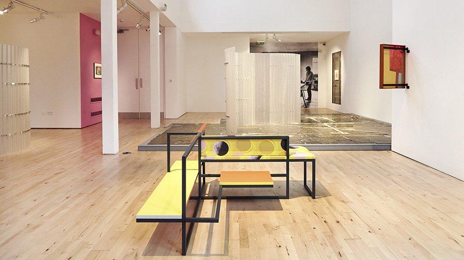 Céline Condorelli, 'Average Spatial Compositions' (2016) installation view, 'Prologue' (2017), Stanley Picker Gallery at Kingston University London  © Corey Bartle-Sanderson