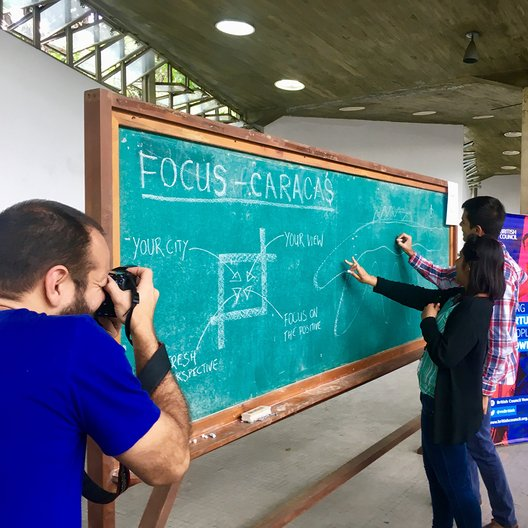 Focus: Caracas Workshop, a three day workshop with 20 architecture students