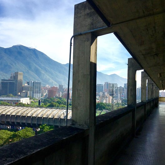 View from the Architecture Faculty at the Universidad Central de Venezuela