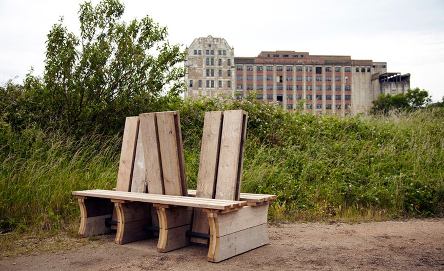 Pivotal Moment Bench, RIBA competition © Will Sandy