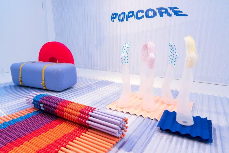 Popcore exhibition Ralph Roelse