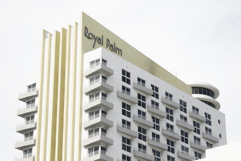 Royal Palm Hotel, Miami South Beach. Architect: Henry Flagler, 1940 © Jenny Steele, 2017