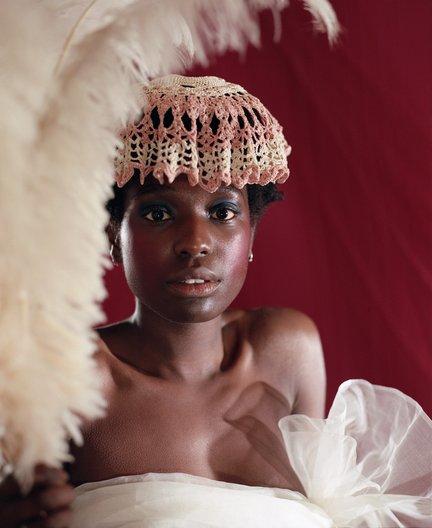 'Saint the Empty Pose' the photo-series : Photography, Luke Farley, Creative & Art Direction, Georgina Johnson