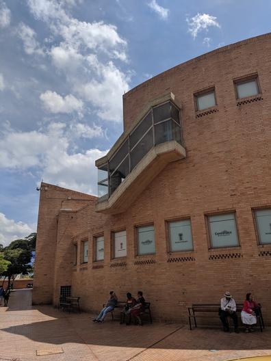 Site visit to Moravia Cultural Centre - Medellín Greg Maya