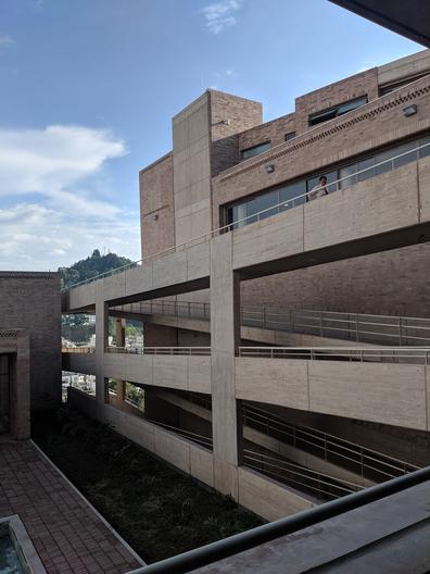 Site visit to Rogelio Salmona Cultural Centre- Manizales Greg Maya
