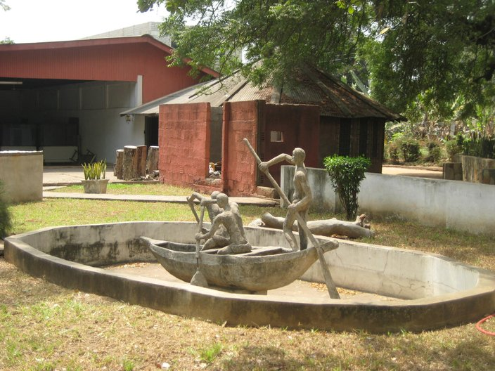 Sculptures in the National Museum grounds © Anna Landreth