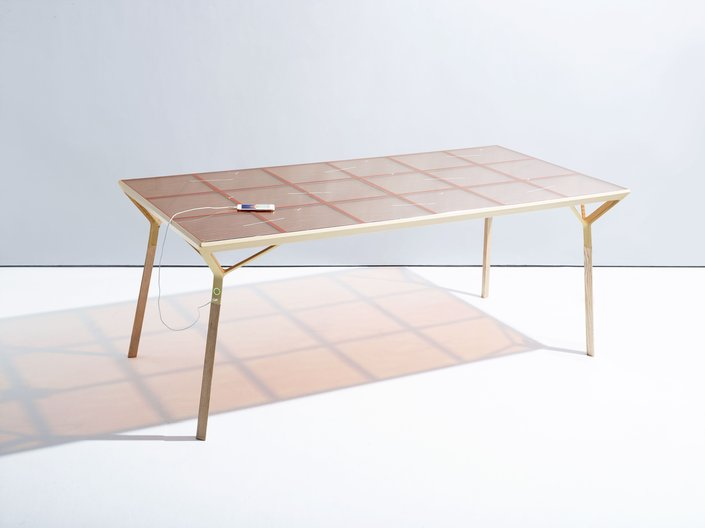 Current Table, Caventou (Marjan van Aubel and Peter Krige)