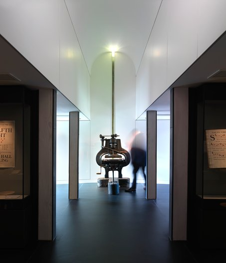 The Stanhope Press and print gallery at Ditchling Museum of Art+Craft © Brotherton and Lock