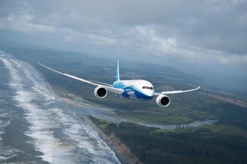 Boeing 787 Dreamliner. Photo: Ed Turner