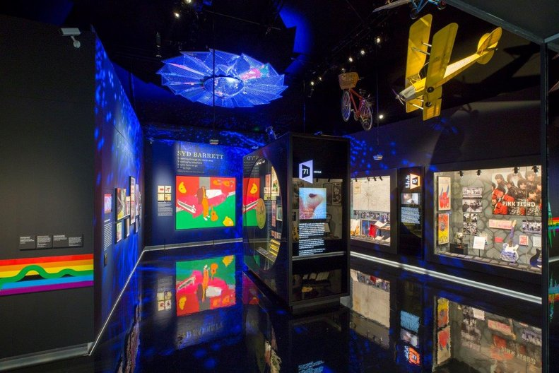 The Pink Floyd Exhibition Their Mortal Remains © PINK FLOYD AND V&A IMAGES