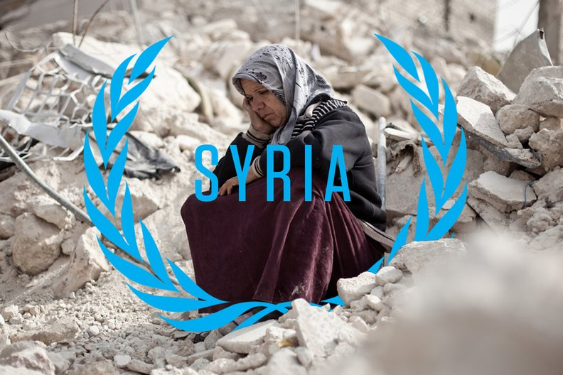The United Nation Syria Mission © Templo