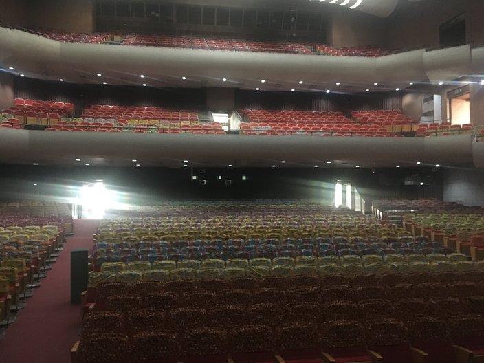 The auditorium, National Theatre Ghana © Anna Landreth