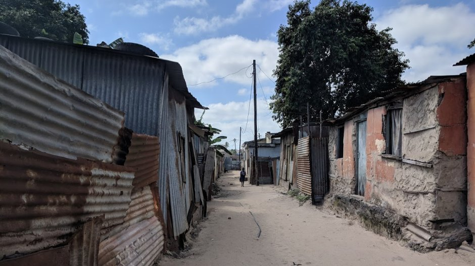 The streets of Mafalala, Maputo © Kate Goodwin